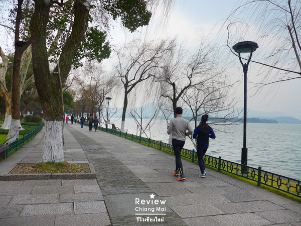 exercise at west lake
